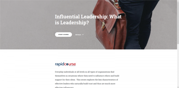 Influencial Leadership