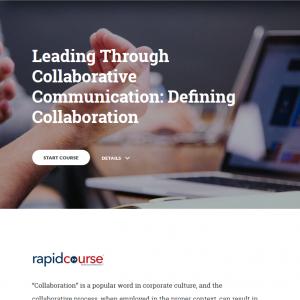 Leading through Collaborative Communication