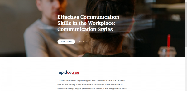 Communication Skills in the Workpace
