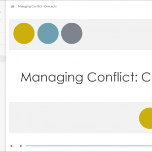 Conflict Management Concepts